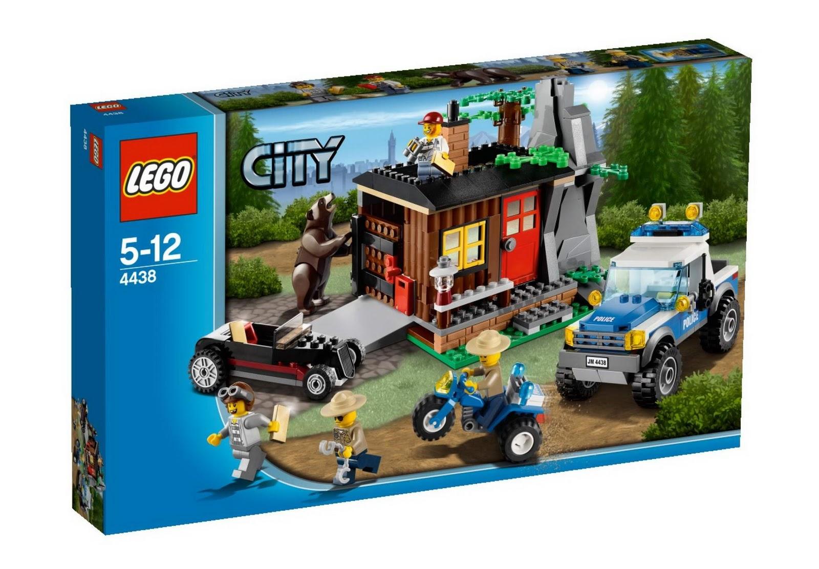 www.onetwobrick.net: set database: LEGO 4438 robbers' hideout