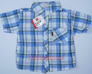 Rvenor collar short sleeve for baby boys