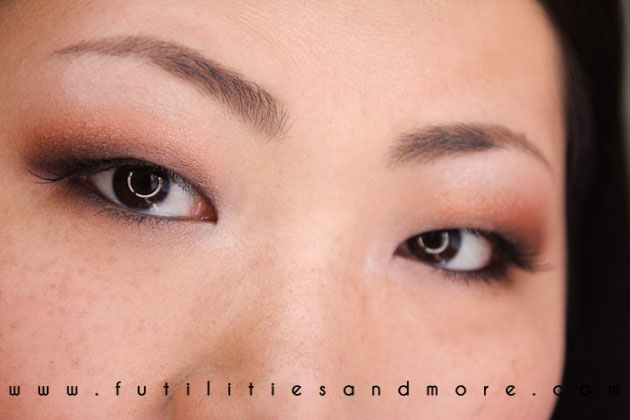 SEPHORA PANTONE TANGERINE TANGO SMOKEY EYES MAKEUP TUTORIAL BEAUTY BLOG CHANEL ASIAN FUTILITIESANDMORE-4