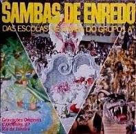 foto da capa do cd sambas de enredo 1987 grupo de acesso