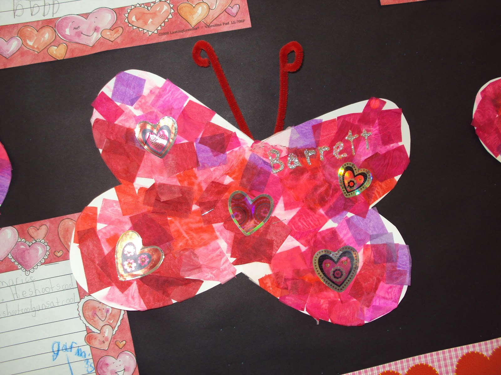 Mrs Seymour S Super Stars Valentines Day Bulletin Board Idea