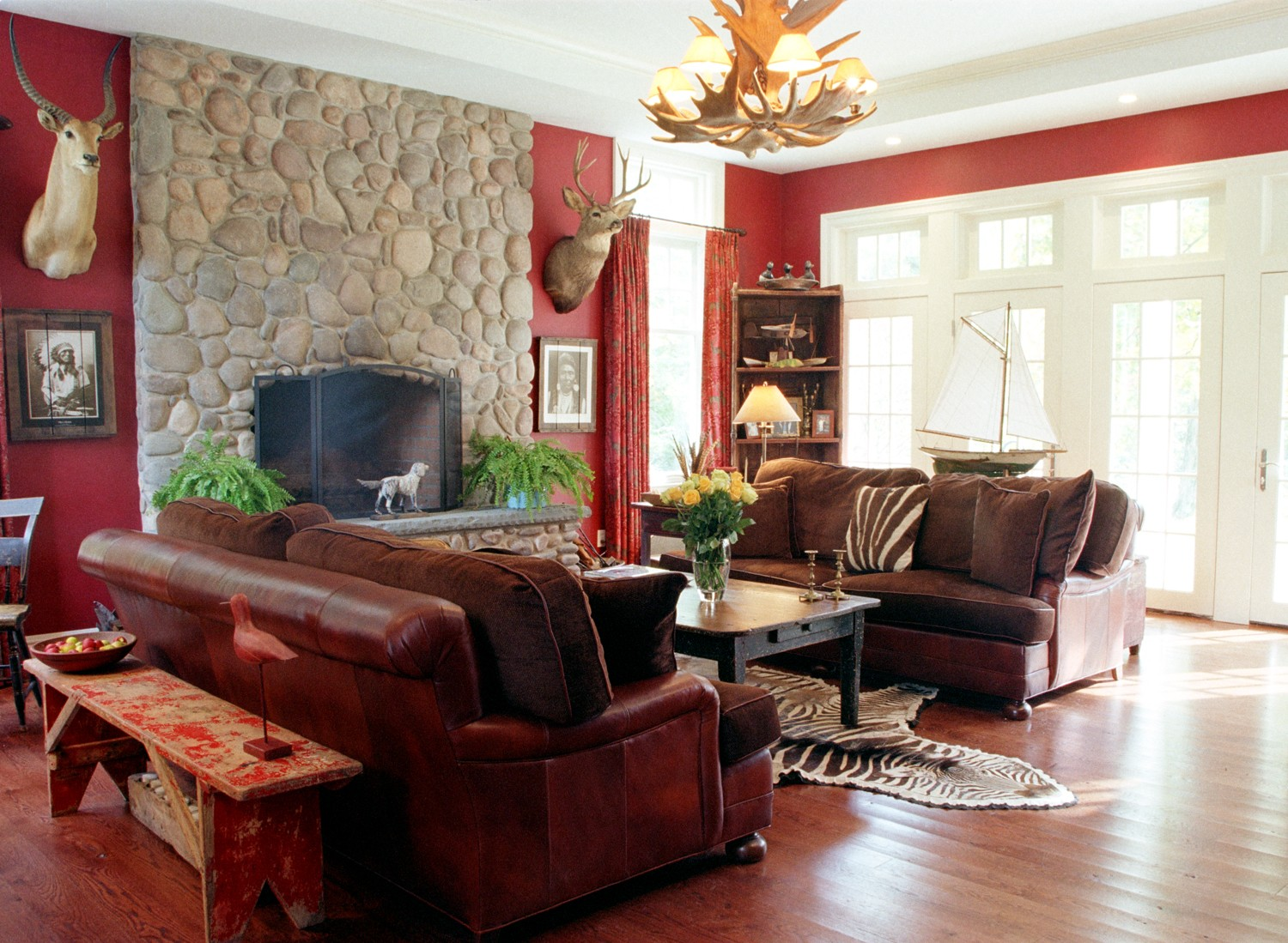 Living Room Decorating Ideas Red Walls red living room decorations - hypnofitmaui
