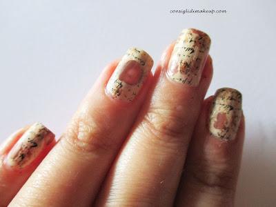 Nail art: C'era una volta - Stamping Nail Art