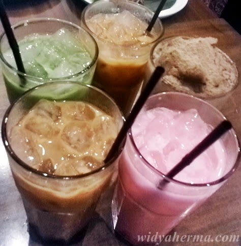 Minuman di Mamak Kitchen