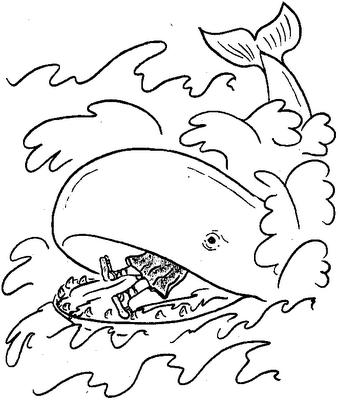 Desenho Animado Infantil on 50 Desenhos B  Blicos Para Colorir Pintar Imprimir   Portal Escola