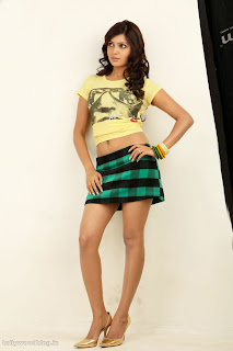 samantha smallest green micro mini skirt and short tight t shirt spicy