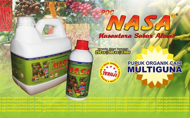 POC NASA - Produk Pupuk Organik Cair NASA Multiguna PT. Natural Nusantara | www.agrotaninusantara.com