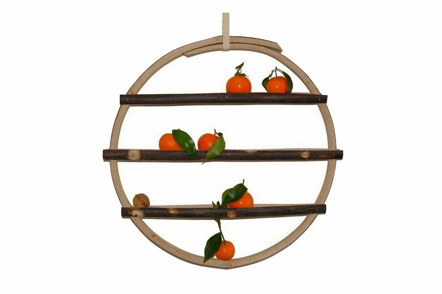 une corbeille fruits murale blog d co mydecolab. Black Bedroom Furniture Sets. Home Design Ideas