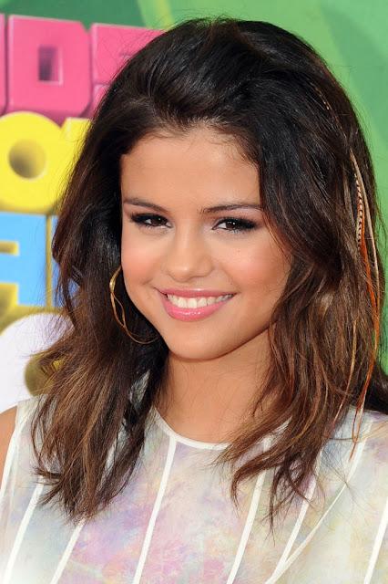 Selena Gomez Blcak Hairstyles