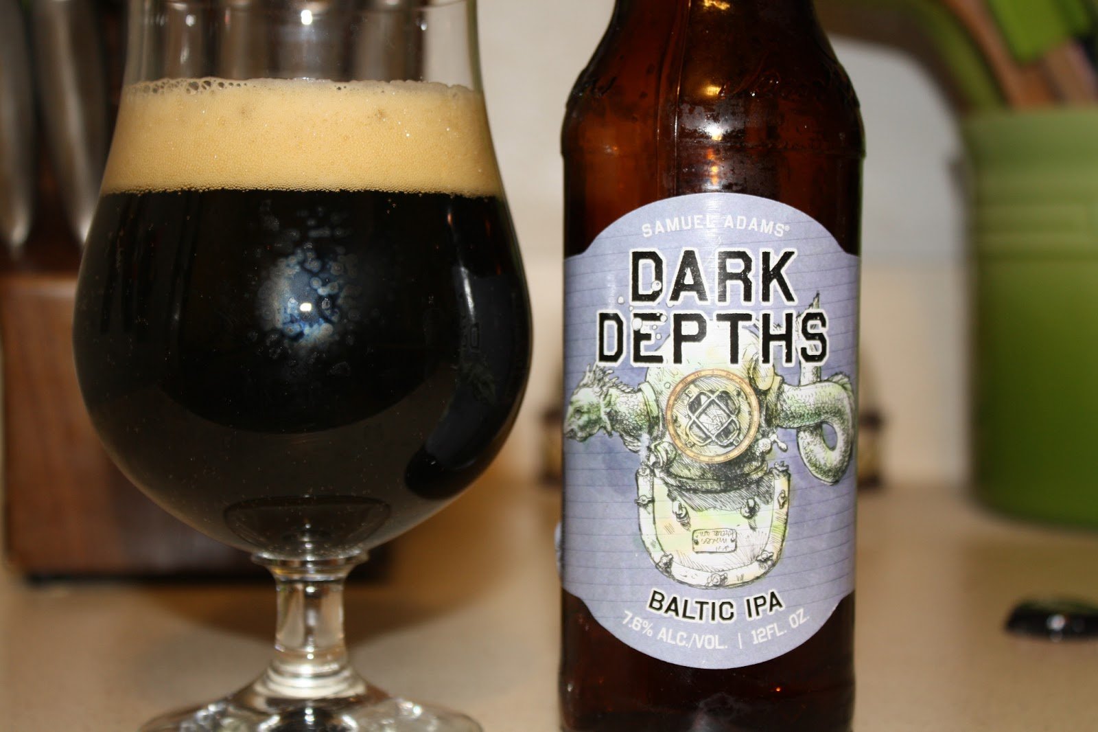Samuel Adams Dark Depths Baltic IPA