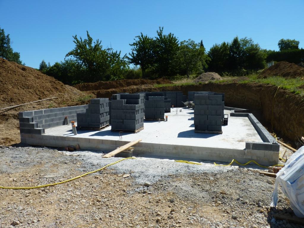 Plan de maison avec sous sol for La maison des sols