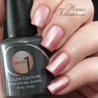 Entity1 Color Couture Gel Polish Slip Into Something Comfortable Swatch