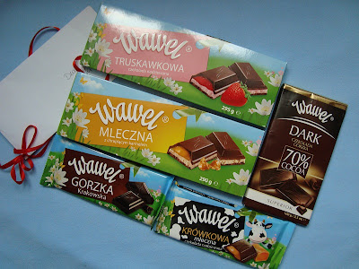 Słodka przesyłka od Wawel