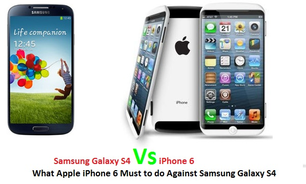 Samsung Galaxy S4 S3 vs iPhone 6 5S 5