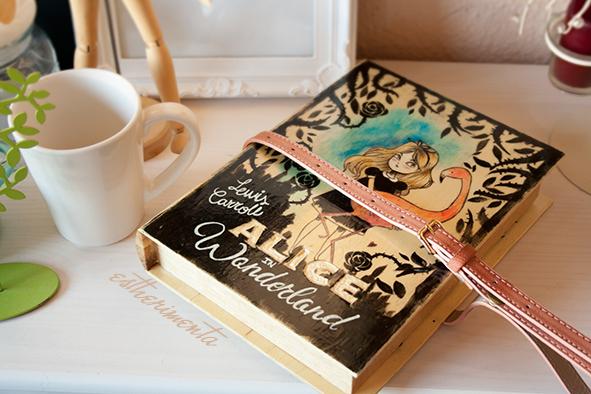 bolso libro de madera por estherimenta