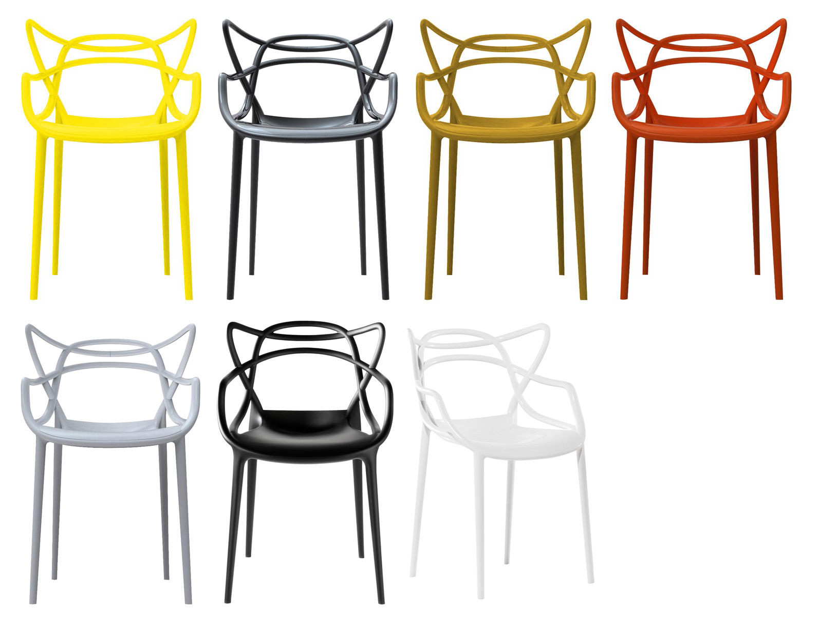 modern interior design Masters Kartell Chair