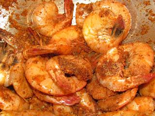 ... Green Tomatoes & Drunken Spicy Shameless Shrimp (Dinosaur Bar-B-Que