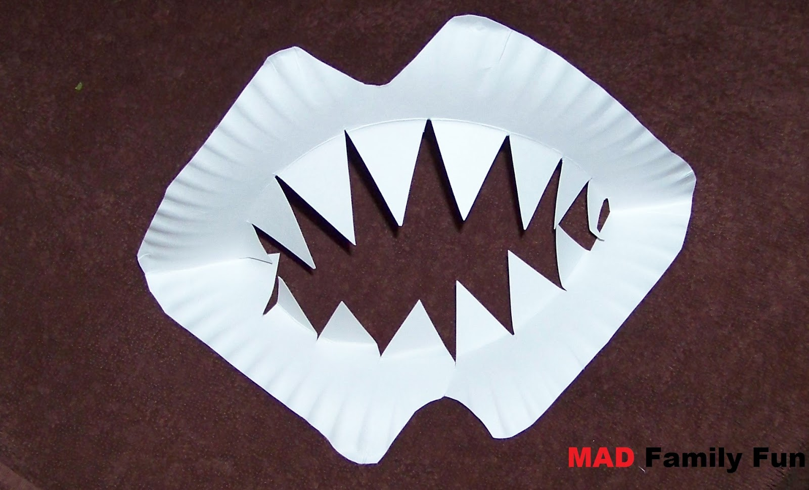 MAD Family Fun: Make your own shark teeth