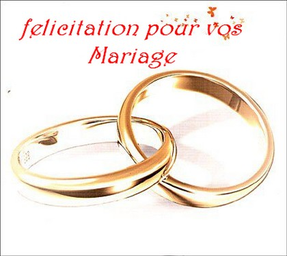 flicitation pour un mariage texte pour vux de mariage - Texte De Felicitation De Mariage