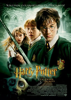 Harry Potter and the Chamber of Secrets (2002) 720p BluRay + Subtitle Indonesia