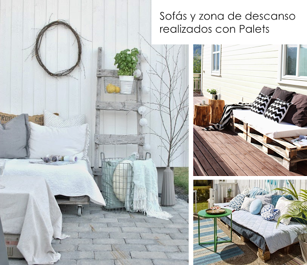Ideas para decorar reciclando en el jard n y terraza for Ideas para decorar reciclando