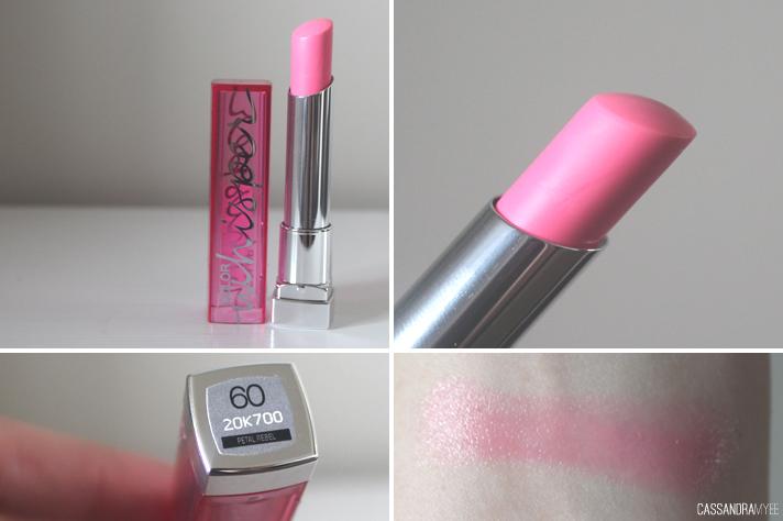 MAYBELLINE // Color Whisper Lipstick in Petal Rebel + Oh La Lilac ...