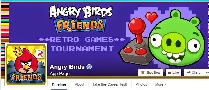 angry birds fans page