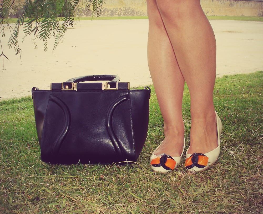 MartofChina+Solid+Black+Tote+Bag