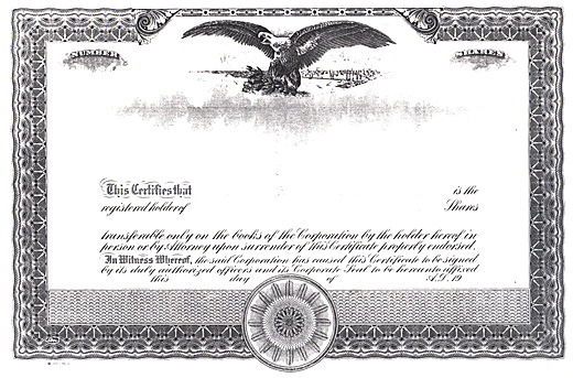Living Stingy: Should You Hold Physical Stock Certificates? (DRiP ...