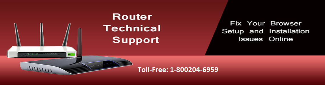 Router Technical Support Number