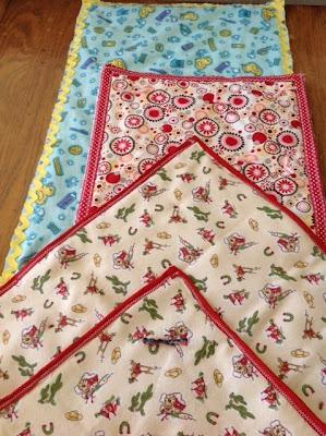 handmade doll blankets