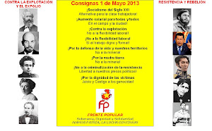 CONSIGNAS 1 DE MAYO