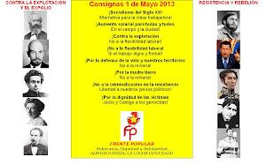 CONSIGNAS 1 DE MAYO