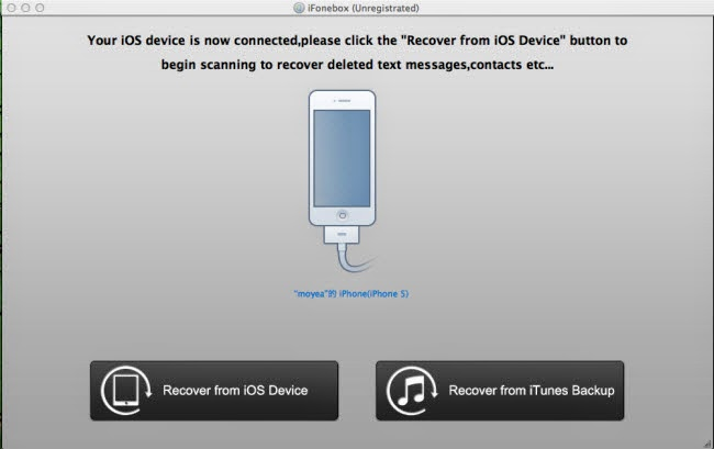 recover deleted phone number from iphone