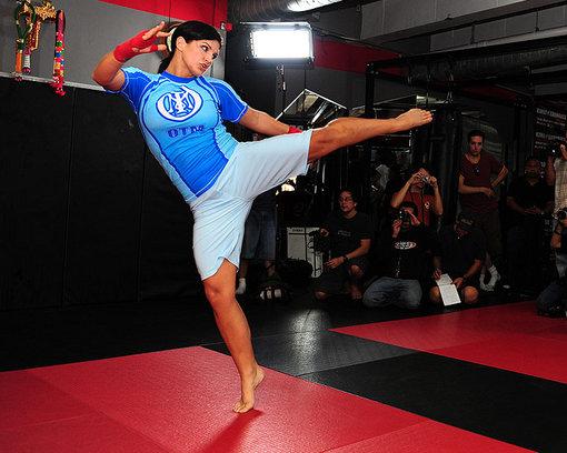gina carano fight - photo #6