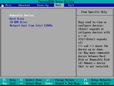 Install Komputer Baru Windows XP Booting