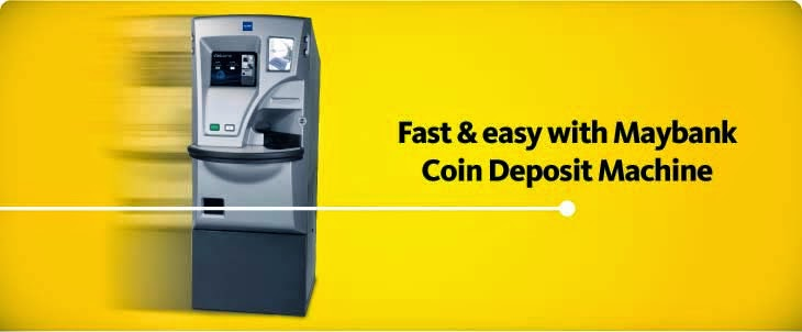 COIN DEPOSIT MACHINE MAYBANK