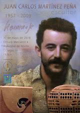 El jueves 31 de mayo presento en Sevilla el homenaje al escultor Juan Carlos Martínez Peña
