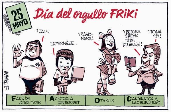 Día del Orgullo Friki - 25 de Mayo