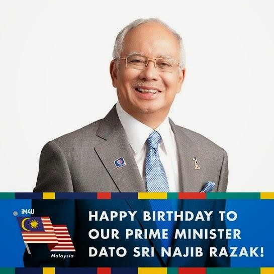 Selamat Hari Lahir Perdana Menteri