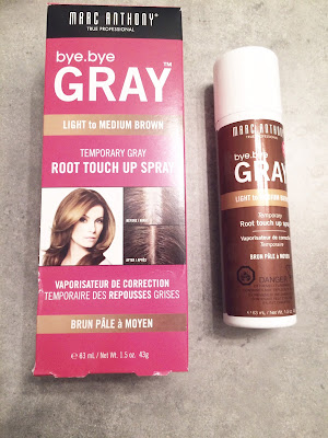 bye bye gray root touch up spray by marc anthony