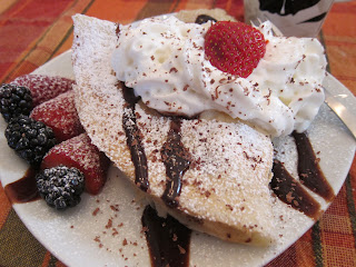 Fruit Crepe