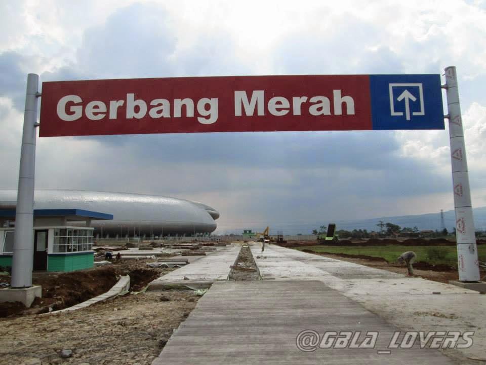 ... progres progres lahan parkiran stadion gbla stadion gbla parkiran
