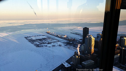 Navy Pier viewed from 360 Chicago