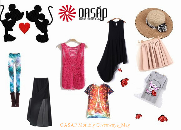 oasap giveaway, oasap street fashion giveaway prizes