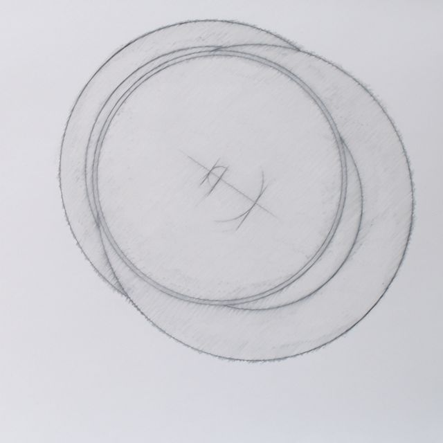tek cirkels in vierkant