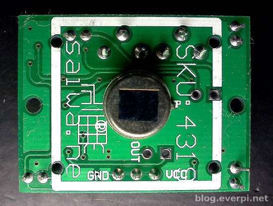 sensor pir hc-sr501