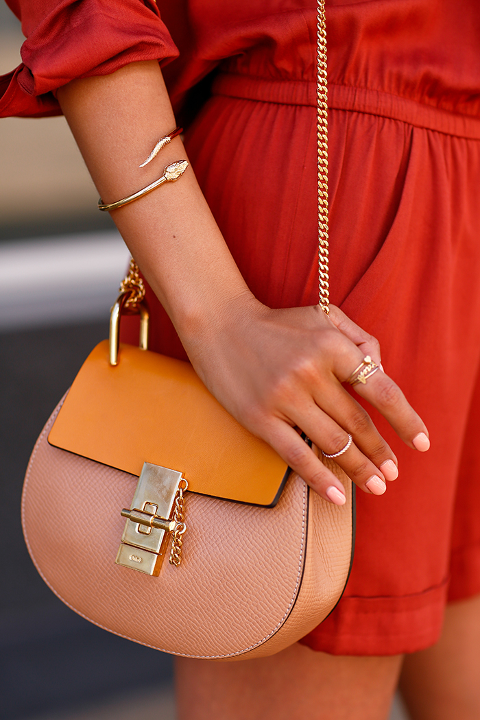 CHLOE Mini Drew shoulder bag