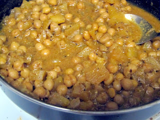Chickpea Apple curry chutney
