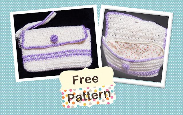 free wristlet crochet pattern